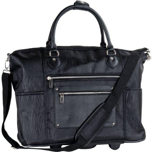 calpak-zanny-black-grain-21-inch-laptop-tote-bag