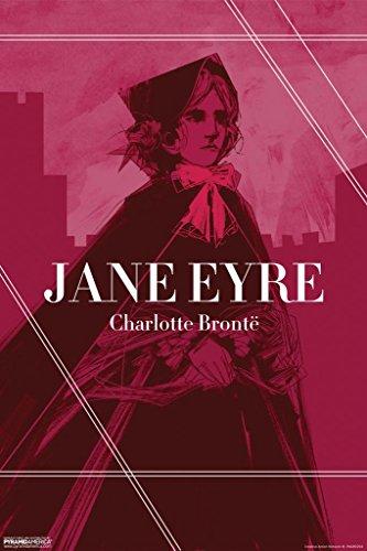 Pyramid America Jane Eyre Charlotte Bronte Red Art Print Pos