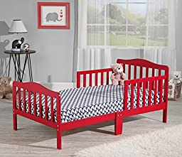 Orbelle Toddler Bed, 3-6T, Red