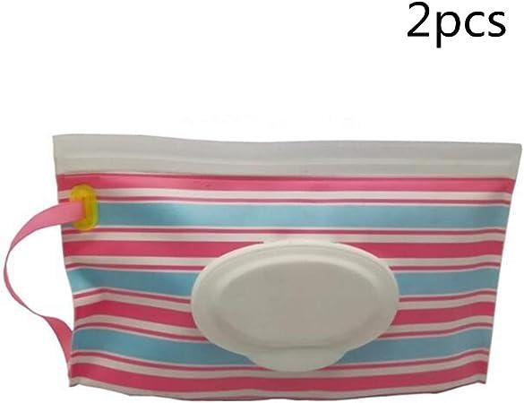 Uteruik - Estuche de Viaje para toallitas húmedas para bebé, 2 Unidades (#A): Amazon.es: Hogar