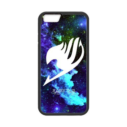 """LeonardCustom Hard Durable Rubber Fitted Cover Case for iPhone 6 4.7"""", Fairy Tail Guild Logo -LCI6U167"""
