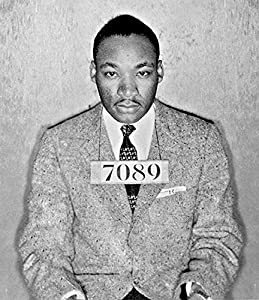 Amazon.com: MARTIN LUTHER KING MUG SHOT GLOSSY POSTER PICTURE ...
