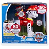PAW Patrol Interactive Learning Pup with Missions, Sounds and Phrases, Zoomer Marshall