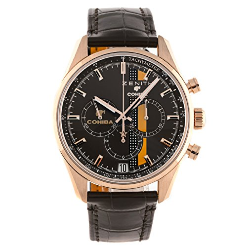 Zenith Chronomaster El Primero LEGEND OF COHIBA 18kt Rose Gold Mens Watch 18.2041.400/76.C795