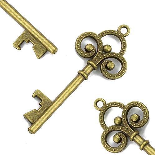 skeleton keychain bottle opener - 7