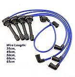 QKPARTS 8019 Spark Plug Wire Set Fits: 93-01 Honda Prelude DOHC VTEC