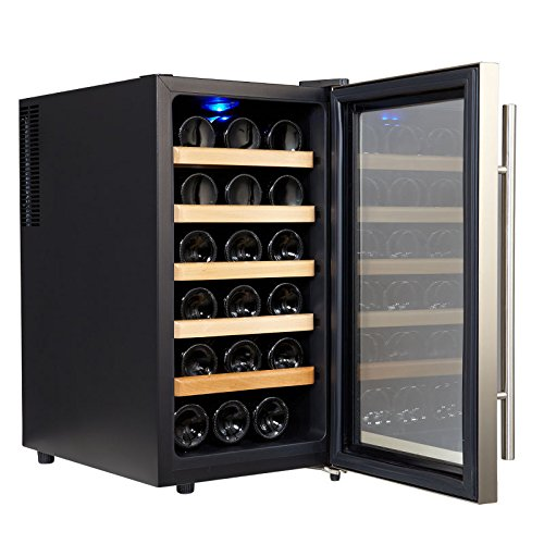 Kalamera 18 Bottle Freestanding Thermal Wine Cooler Free Standing