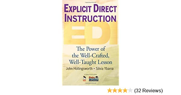 Amazon Explicit Direct Instruction Edi The Power Of The Well