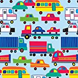 The Gift Wrap Company 1/4 Ream Wrapping Paper, Traffic Jam