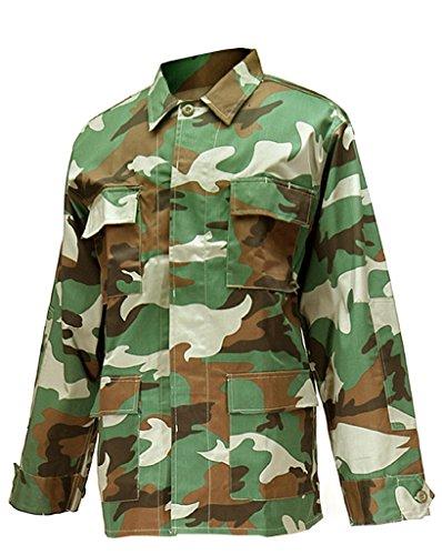 Solide confortable (uS style rangerjacke woodland veste fonctionnelle pour homme