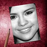 Seasons SELENA GOMEZ - ACEO Sketch Card (Signed by the Artist) #js005