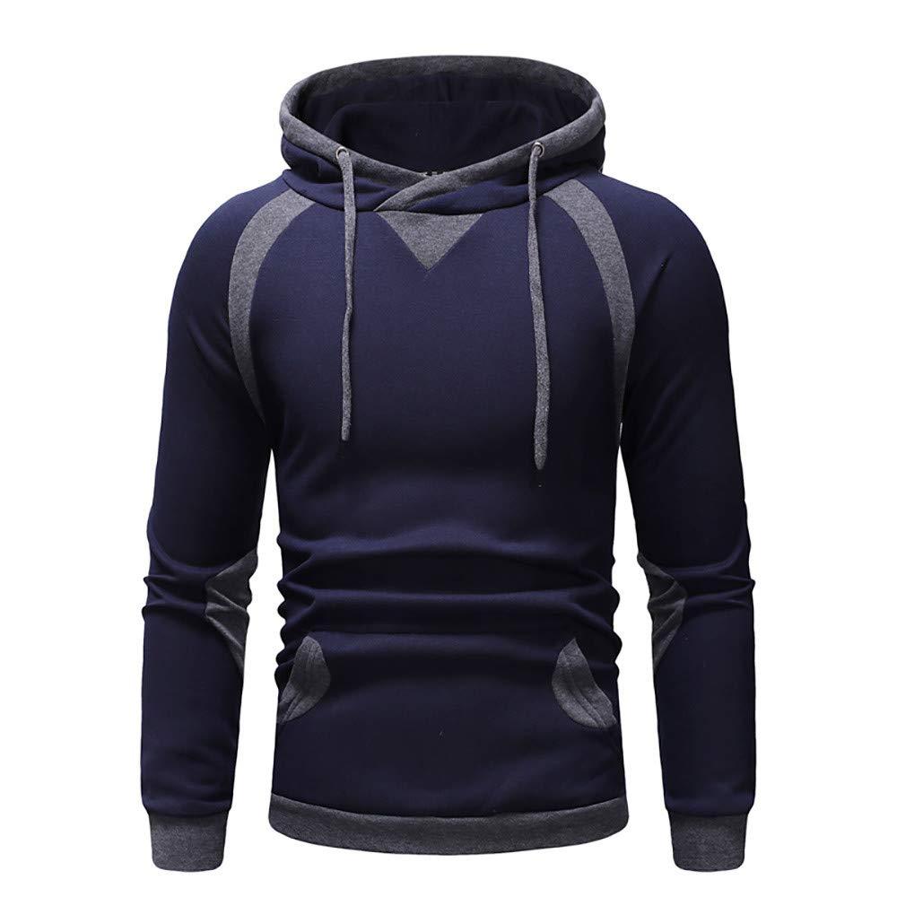MCYs Pullover der Mä nner, Mens 'Print Hoodie Kapuzen Sweatshirt Tops Jacke Mantel Outwear Mens ' Print Hoodie Kapuzen Sweatshirt Tops Jacke Mantel Outwear