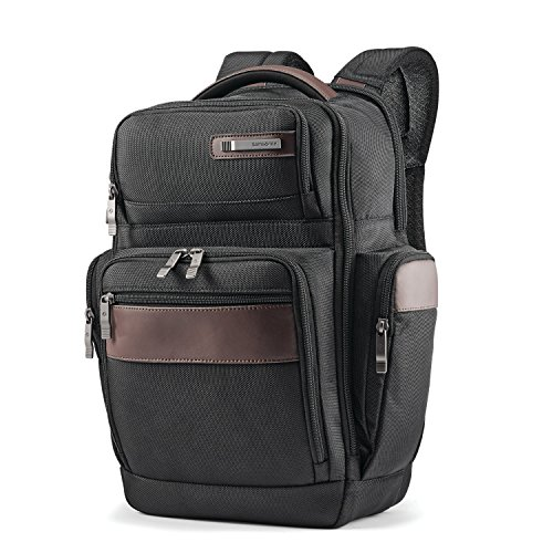 - Samsonite Kombi 4 Square Backpack, Black/Brown