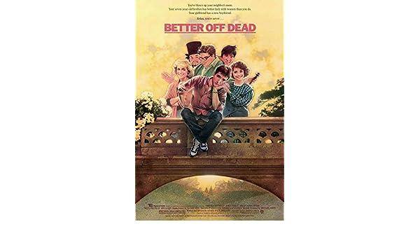 A USA NEW David Ogden Stiers Better Off Dead Movie POSTER 11 x 17 John Cusack