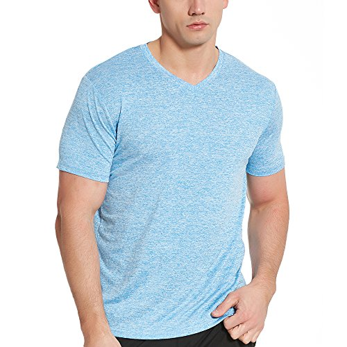 COVISS Men's Dry Fit Athletic T-Shirts