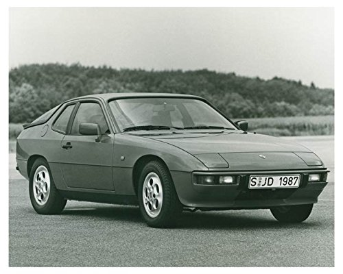 1987 Porsche 924 S Automobile Factory Photo