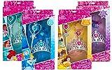 Disney Princess Set Of Four Different Princess Dress Up Box Sets with Wand Tiara & Bracelet