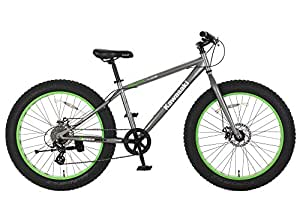Amazon Com Kawasaki Sumo Fat Tire Bike 26x4 Inch Wheels