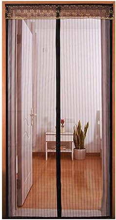 QDR Mosquitera Puerta Magnetica Blanca,Cortina Mosquitera para Puertas De PráCtica,para Puertas Correderas/Balcones/Terraza,180x240cm(71x94inch): Amazon.es: Hogar