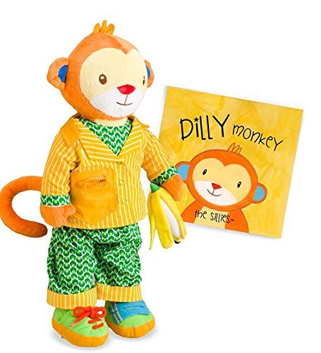 Price comparison product image Dress-Me Sillies, in Dilly the Monkey