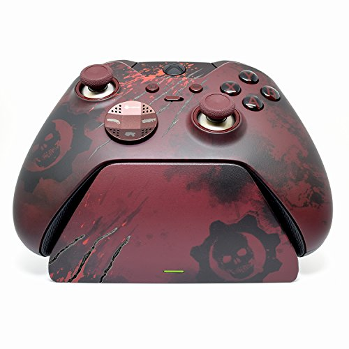 Controller Gear Official Xbox One Charging Stand. Gears of War 4: Elite Limited Edition Design. Xbox Pro Charging Stand. Licensed and Patented. - Xbox One