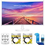 Samsung CF391 Series 32″ LED Curved Monitor (LC32F391FWNXZA) with