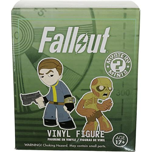"""Fallout Raider: ~3"""" x Funko Mystery Minis Vinyl Figure + 1 Free Video Games Themed Trading Card Bundle [59743]"""