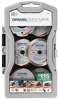 Dremel SM710 Saw-Max Blade Set, 12-Piece from Dremel