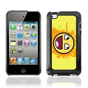 CQ Tech Phone Accessory: Carcasa Trasera Rigida Aluminio Para Apple iPod Touch 4 - Funny Awesome Smiley LOL MEME
