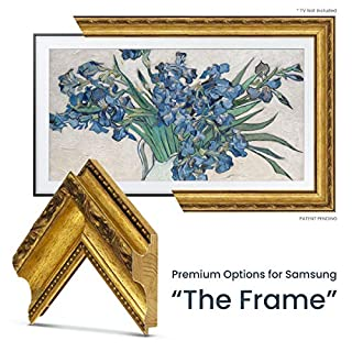 "Deco TV Frames - Ornate Gold Frame Custom for Samsung The Frame TV (43"")"