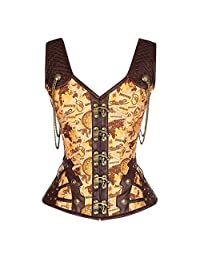 df8bae4f968 500 5000 Belt Body Shaper Belly Wrap Steampunk Corset Waistcoat Vest Lady s  Bodyshaper Sexy Corset