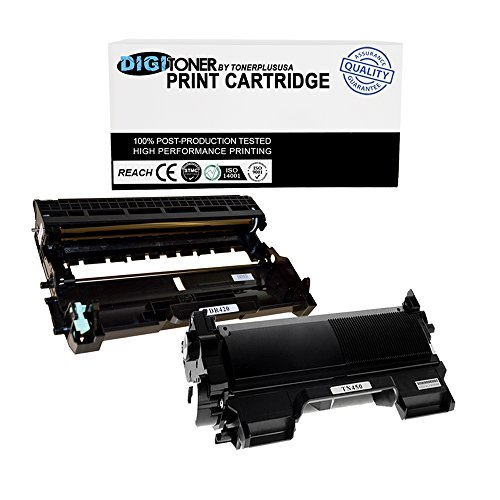 """TonerPlusUSA DR420 TN450 """"DigiToner Combo- Compatible Toner Cartridge for Brother Plus Drum Unit Replacement for Brother"""""""
