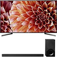 Sony 85-Inch 4K Ultra HD Smart LED TV 2018 Model (XBR85X900F) with Sony 2.1ch Soundbar with Dolby Atmos