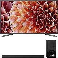 Sony 85-Inch 4K Ultra HD Smart LED TV 2018 Model (XBR85X900F) with Sony 2.1ch Soundbar with Dolby Atmos
