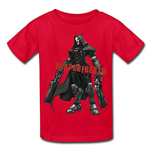 Price comparison product image Omahaer REAPER Youth T-shirt 100% Cotton New Style