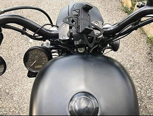 39/mm BLK CNC Billet Speedo Verlagerung Halterung f/ür Harley Sportster XL 883/1200/C N L R 48