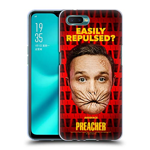 Official Preacher A Face Season 3 Character Art Soft Gel Case for Oppo R15x