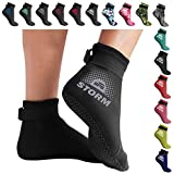 BPS 'Storm Sock' Ultra Premium Water Fin Sock (Low Cut - Unisex) 3mm Neoprene Glued and Blind Stitched w/Fit Adjustment…