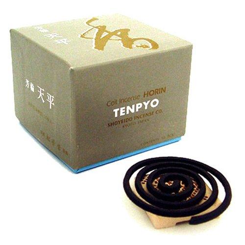 Shoyeido's Peaceful Sky Incense, Set of 10 Coils - Ten-pyo by SHOYEIDO