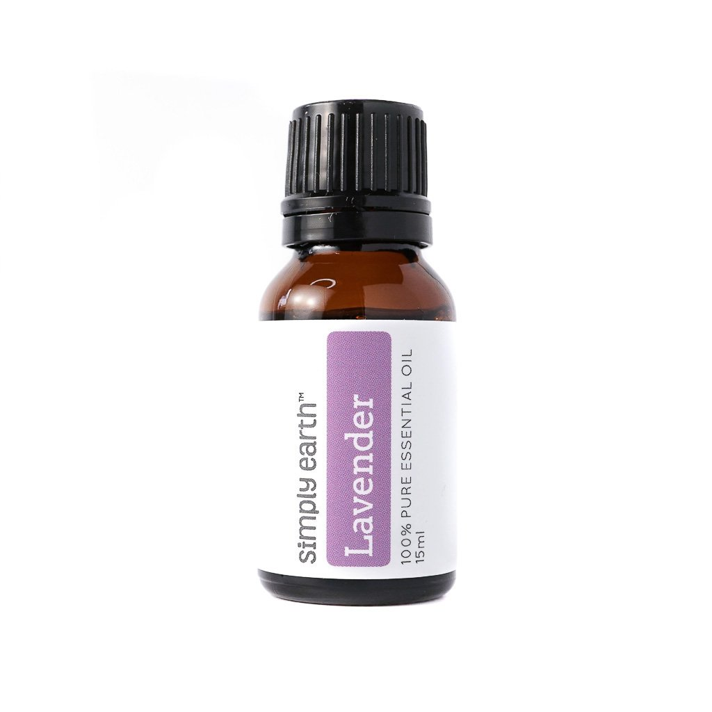 Lavender Essential Oil by Simply Earth - 15 ml, 100% Pure Therapeutic Grade