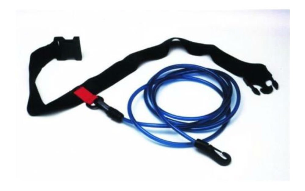 Water Gear Swimmer's Leash Stationary Cords Swim Pool Hip Belt Training by Unknown
