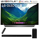LG OLED55C8PUA 55'-Class C8 OLED 4K HDR AI Smart TV (2018 Model) with Samsung HW-M360/ZA 200W 2.1ch Soundbar w/ Wireless Subwoofer