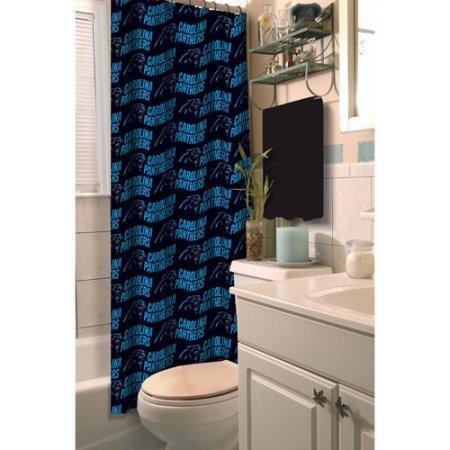 - The Northwest Company NFL Carolina Panthers Shower Curtain