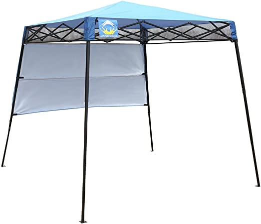 Amazon Com Crown Shades 8ft X 8ft Slant Leg Instant Canopy