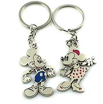 Angelia His Her Keychain Keyring Couples - Arrow &