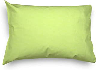product image for SheetWorld Twin Pillow Case, 100% Cotton Flannel 20 x 26, Lime, Made in USA