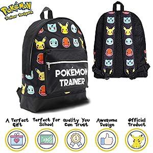 Pokemon Large Backpack for Boy...