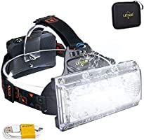 LETOUR LED Headlamp, Headlight & Bike Light, CREE Rechargeable Head Lamp, Waterproof Flashlight, Dismountable Camping...