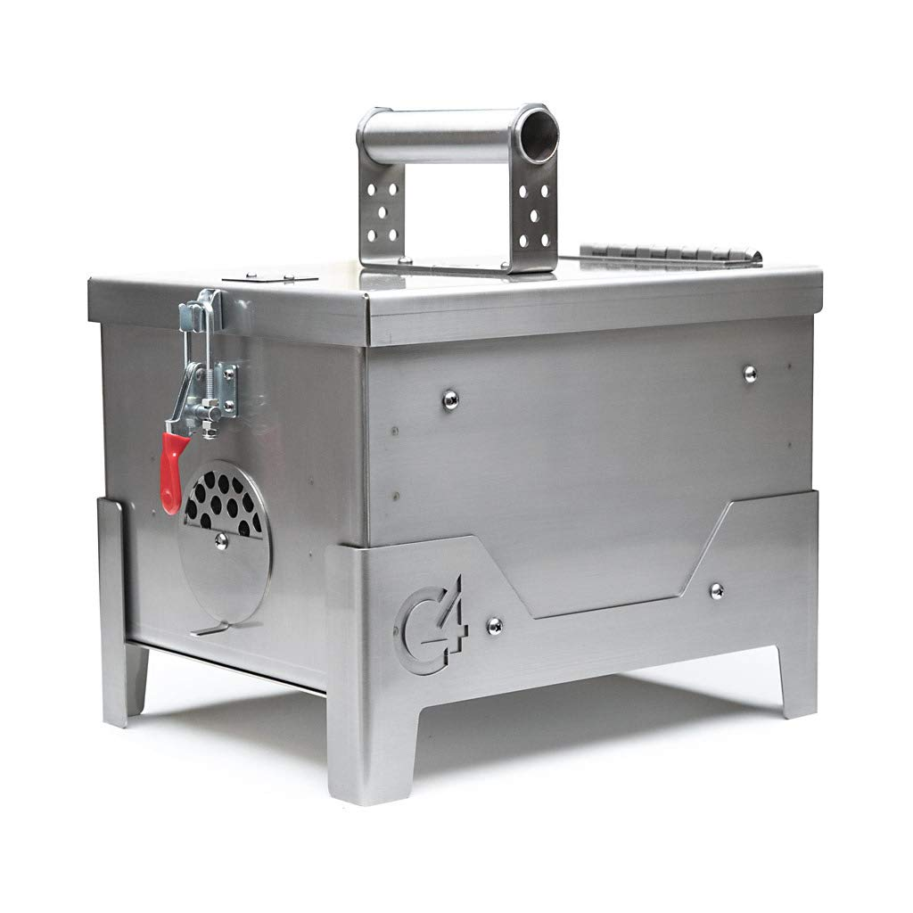 C4 Stainless Steel Portable Grill