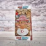 ilyas Gonen Dibek Ground Turkish Coffee/Plain Dibek and 19 Different Flavored (100g / 3,5oz) (Milk & Salep Flavored Ground Turkish Coffee) -  Dibek Kuru Kahve